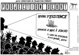 affiche projection debat-revenu base